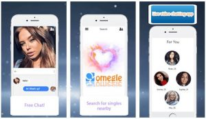 Omegle Mobil Chat App