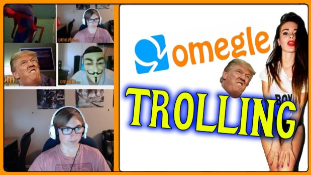 trolling on omegle tv